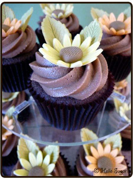 choklad och mockacupcakes