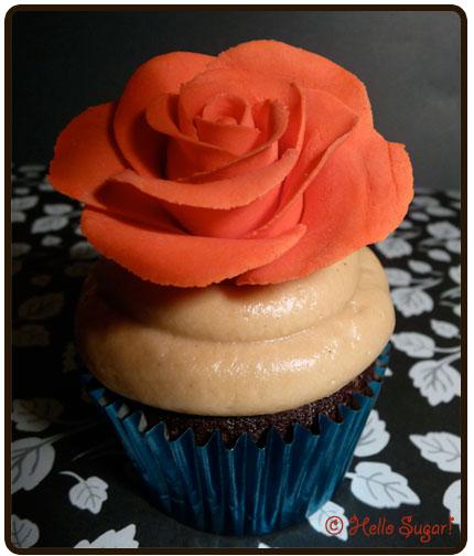 Chocolate Nougat Cupcake