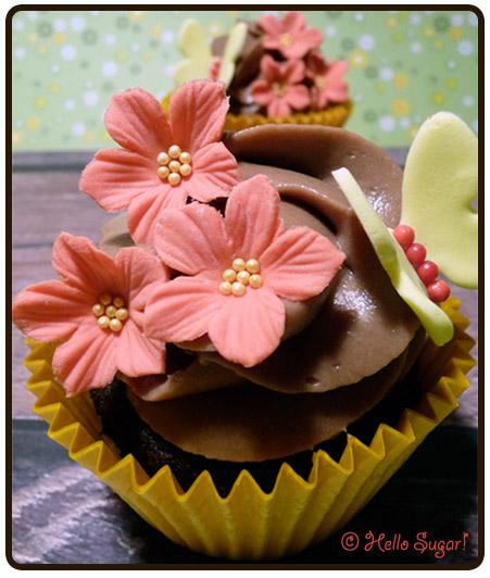choklad och nutella cupcakes