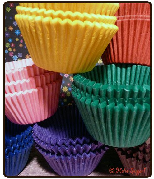 bakformar cupcakes
