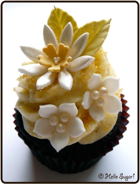 chokladcupcakes med vaniljfrosting