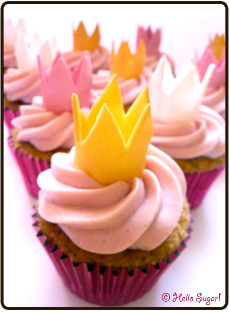 princess cupcakes till barnkalas