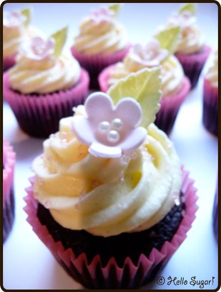 cupcakes till födelsedagskalas