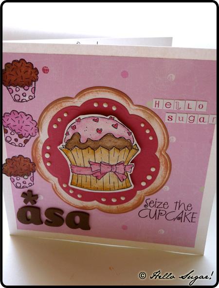 cupcakekort från pernilla