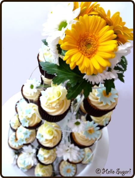 midsommarens cupcakes