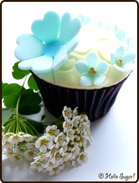 täcka cupcakes med sugarpaste 6