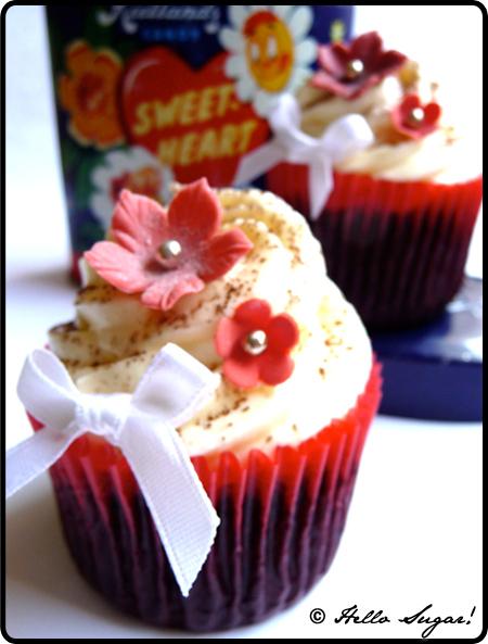 chilichoklad cupcakes med vaniljfrosting