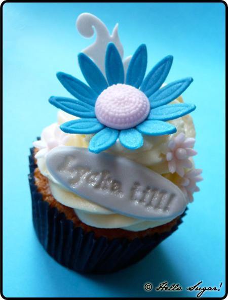 lycka till cupcakes