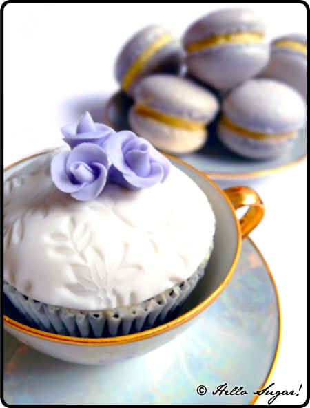 cupcakes och macarons