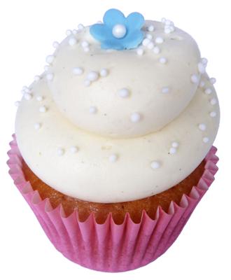 blueberry vanilla bean cupcakes