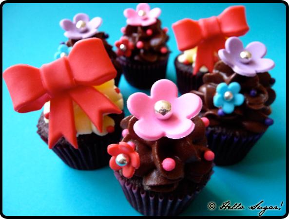 mini cupcakes till monki