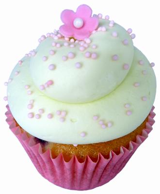 rhubarb raspberry cupcakes