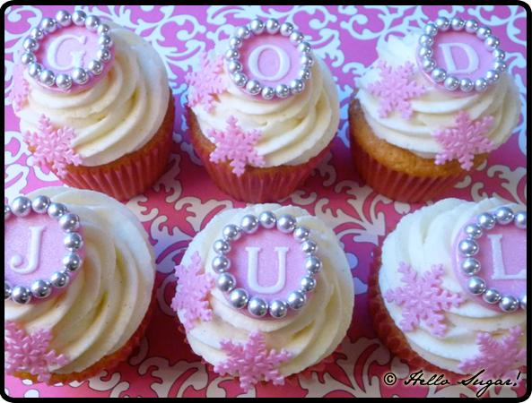 god jul cupcakes