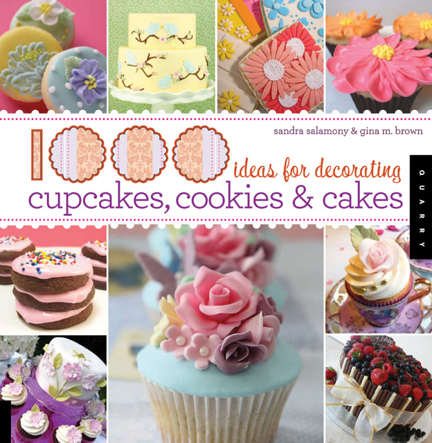 1000 ideas for decorating cupcakes, cookies and cakes