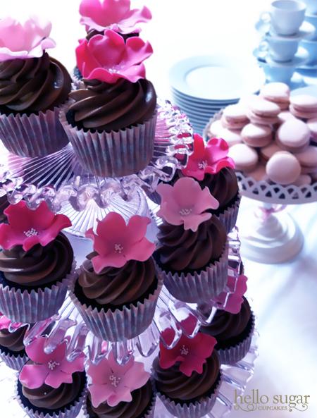 cupcakes macarons dop